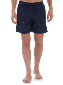 Lyle and Scott All Over Dot Print Swim Shorts