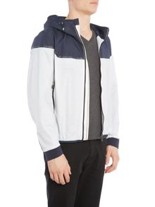Hugo Boss Jaxton perforated technical windbreaker