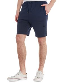 Hugo Boss Headlo jersey logo sweat shorts