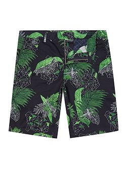 Liem2 slim fit floral print shorts