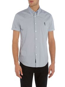 Religion Otto slim fit plain short sleeve shirt