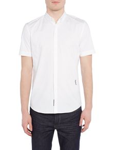 Religion League slim fit plain short sleeve shirt