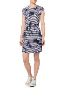 Linea Weekend Stripe tie dye dress