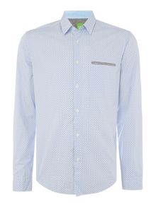 Hugo Boss C-Baber modern fit geo print shirt