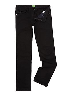 Men's Hugo Boss C-Delaware slim fit black jean
