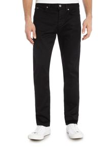 C-Delaware slim fit black jean
