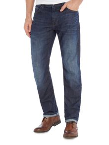 Hugo Boss C-Maine regular fit dark wash jean