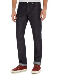 Hugo Boss C-Delaware slim fit dark rinse jean