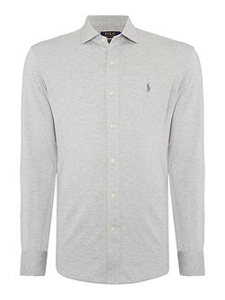 Slim Plain Jersey Shirt