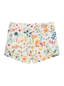 Benetton Girls Floral print shorts
