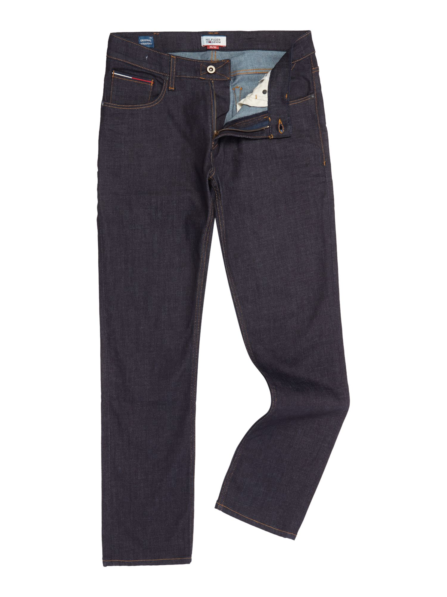 Mens Ryan Original Straight Jeans, Indigo