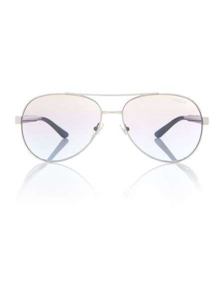 Vogue Silver  aviator  sunglasses VO3997S