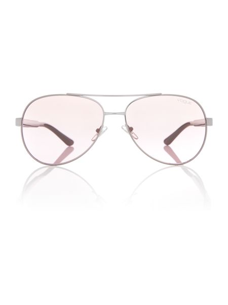 Vogue Gunmetal  aviator  sunglasses VO3997S