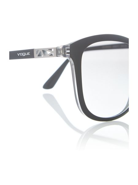 Vogue Black  square  sunglasses VO5033S