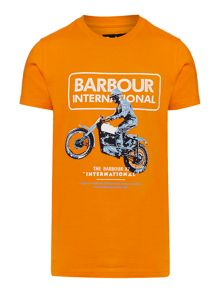 Barbour Boys Motorbike Rider Graphic T-shirt