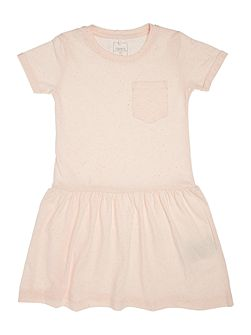 Girls Jersey dress with pocket