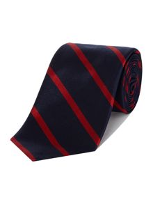 Polo Ralph Lauren Preppy Striped Silk Tie