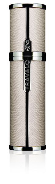 Travalo Milano Refillable Perfume Bottle Elegance White