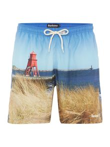 Barbour Beacon print swim shorts
