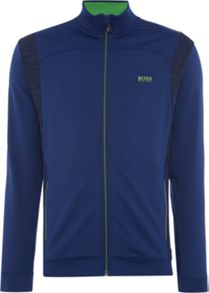 Hugo Boss Golf skatech zip through sweatshirt