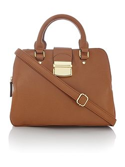 Caden triple compartment handbag