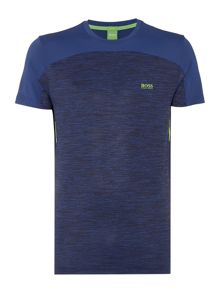 Hugo Boss Golf tianotech crew neck graphic detail t shirt