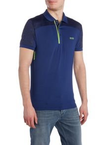 Hugo Boss Golf pavotech graphic detail polo shirt