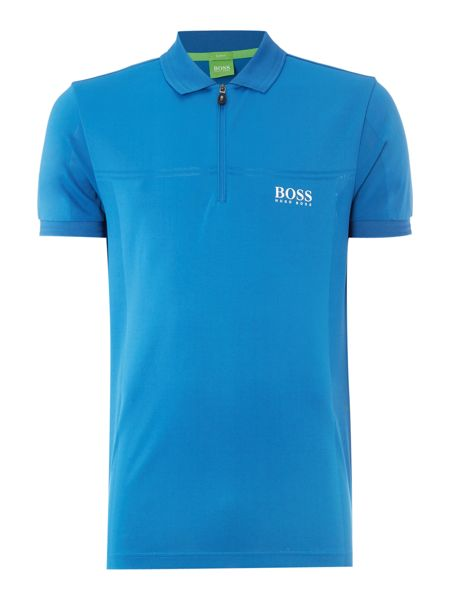 Hugo Boss Golf prek pro zip collar polo shirt