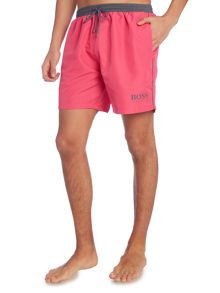Hugo Boss Starfish swim shorts with contrast waistband