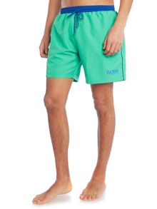 Hugo Boss Starfish swim short with contrast waistband