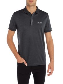 Hugo Boss Golf paddy MK1 hidden placket polo shirt