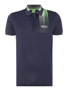 Hugo Boss Golf paddy pro 5 graphic detail polo shirt