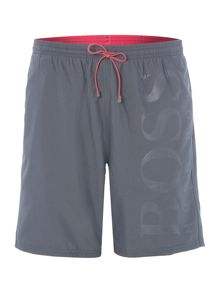 Hugo Boss Orca tonal logo swim shorts