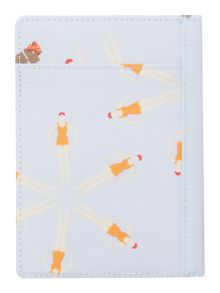 Radley Hippy dog blue passport cover