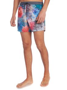 Hugo Boss Icefish floral swim shorts