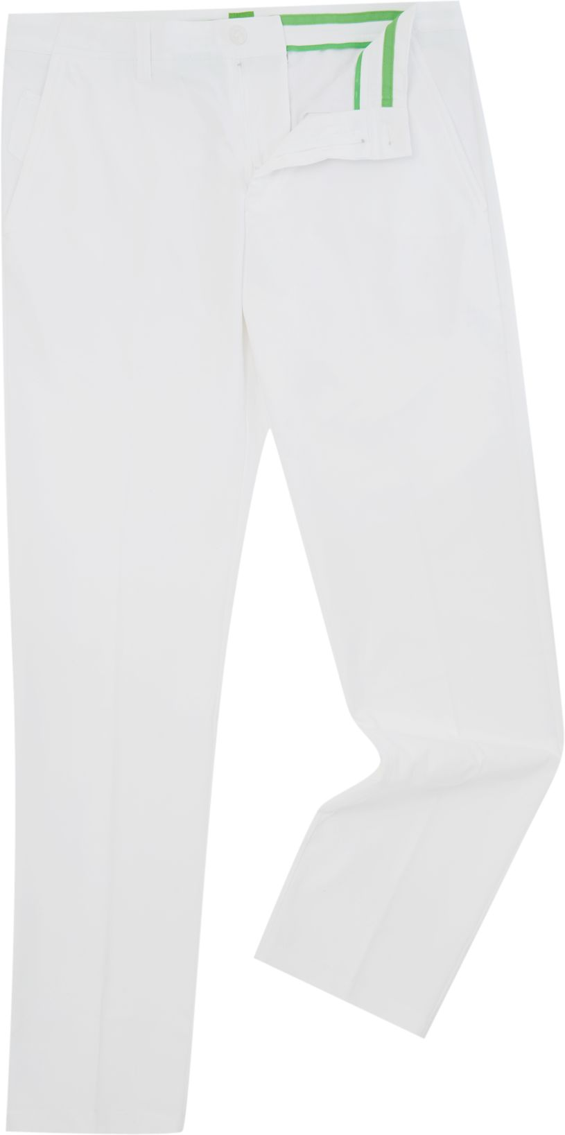 Mens Hugo Boss Golf hakan 7 slim fit water rep trousers White