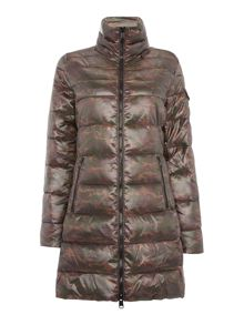 Replay Duck free camouflage down jacket