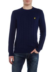Lyle and Scott Cable Crew Neck Jumper