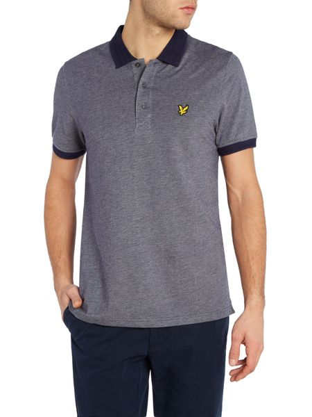 Lyle and Scott Short Sleeve Twill Look Polo