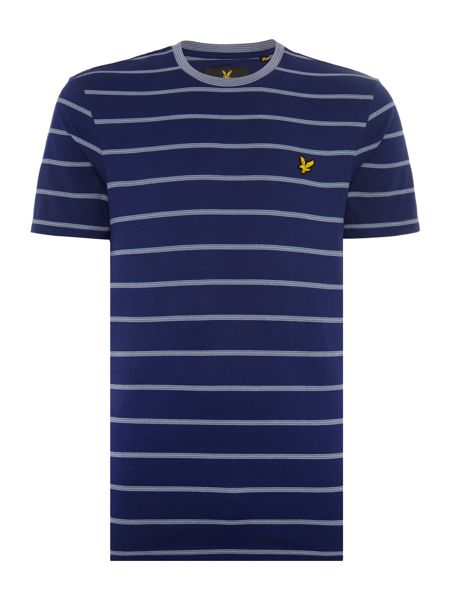 Lyle and Scott Birdseye Multi Stripe T-shirt