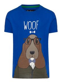 Barbour Boys Dog Graphic T-shirt