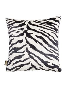 Biba White animal print cushion
