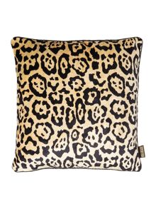 Biba Gold animal print cushion