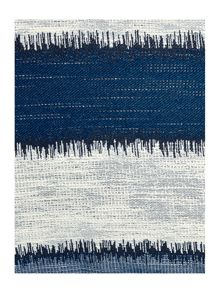 Linea Jacquard stripe cushion, blue