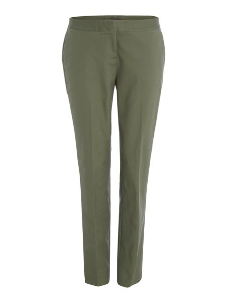 Vince Camuto Slim zip ankle trousers with zips