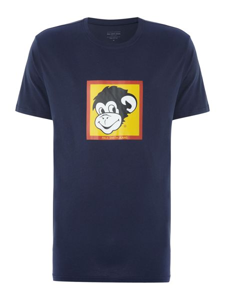 Paul Smith Jeans Regular fit crew neck monkey t-shirt