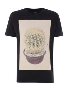 Paul Smith Jeans Regular fit crew neck cactus t-shirt