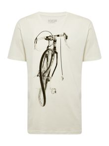 Regular fit crew neck Pauls bike t-shirt