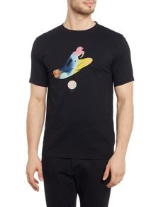 Paul Smith Jeans Regular fit crew neck feather suit t-shirt