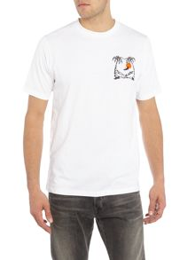 Paul Smith Jeans Regular fit crew neck sit on it t-shirt